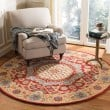 Product Image of Red, Orange (Q) Traditional / Oriental Area Rug