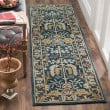 Product Image of Dark Blue (B) Traditional / Oriental Area Rug