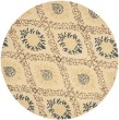 Product Image of Light Gold (A) Damask Area Rug