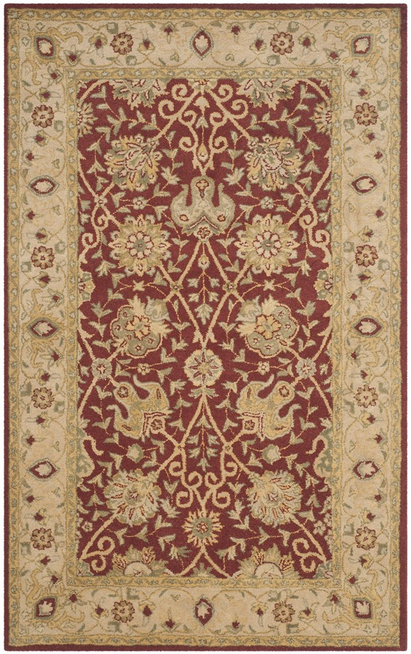 Rust (A) Traditional / Oriental Area Rug