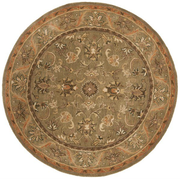 Sage, Gold (A) Traditional / Oriental Area Rug