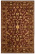 Product Image of Traditional / Oriental Wine, Gold (B) Area Rug