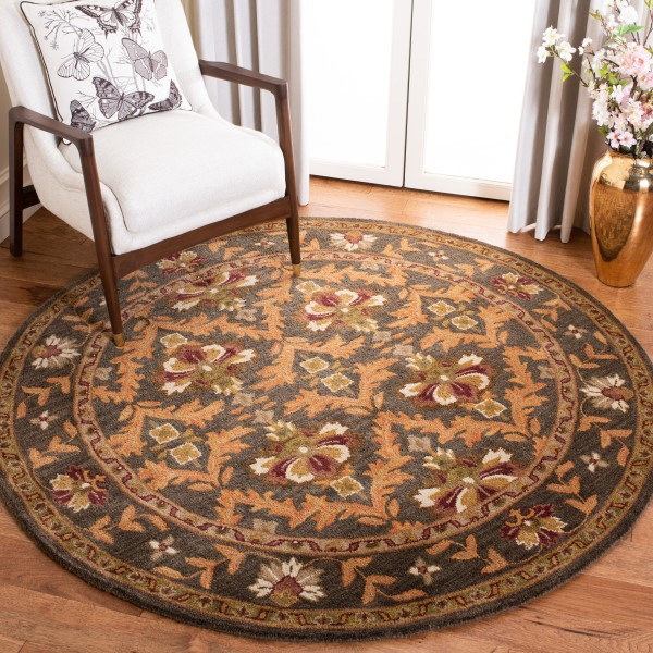 Sage, Gold (B) Traditional / Oriental Area Rug