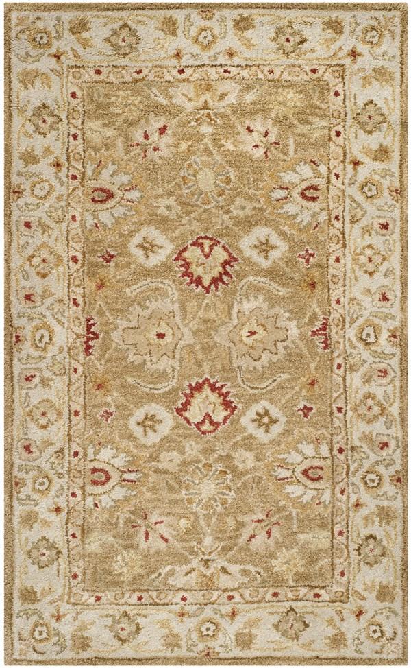 Brown, Beige (B) Traditional / Oriental Area Rug