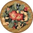 Product Image of Black, Brown (A) Floral / Botanical Area Rug