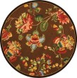Product Image of Brown, Green (B) Floral / Botanical Area Rug