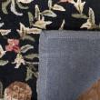 Product Image of Black, Ivory (A) Floral / Botanical Area Rug