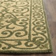 Product Image of Yellow, Light Green (G) Transitional Area Rug