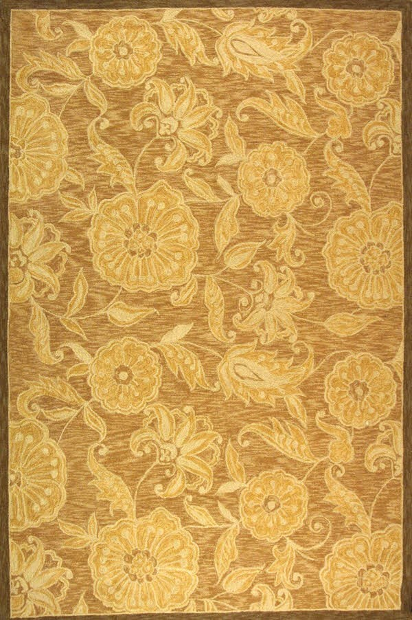 Light Brown (A) Transitional Area Rug