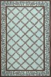 Product Image of Traditional / Oriental Blue, Brown (J) Area Rug