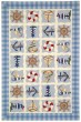 Product Image of Beach / Nautical Ivory, Blue (A) Area Rug