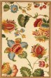 Product Image of Floral / Botanical Ivory, Rust (A) Area Rug