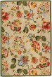 Product Image of Floral / Botanical Sage, Red (C) Area Rug