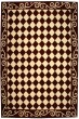 Product Image of Contemporary / Modern Burgundy, Ivory (C) Area Rug