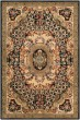 Product Image of Traditional / Oriental Black, Gold (A) Area Rug