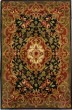 Product Image of Traditional / Oriental Black, Green (D) Area Rug