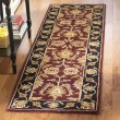 Product Image of Burgundy, Black (B) Traditional / Oriental Area Rug