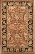 Product Image of Traditional / Oriental Rust, Black (C) Area Rug