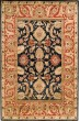 Product Image of Traditional / Oriental Black, Burgundy (C) Area Rug