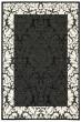 Product Image of Damask Black, Sand (3908) Area Rug