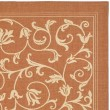 Product Image of Terracotta, Natural (3202) Transitional Area Rug