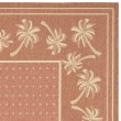 Product Image of Rust, Sand (A) Bordered Area Rug