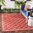 Product Image of Red, Bone (248) Moroccan Area Rug
