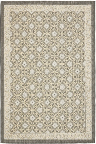 Anthracite, Light Grey (87A21) Outdoor / Indoor Area Rug