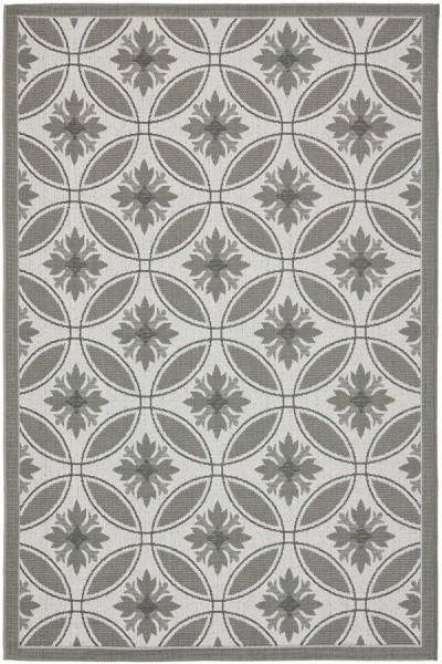 Light Grey, Anthracite (78A5) Moroccan Area Rug