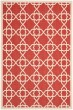 Product Image of Contemporary / Modern Red, Beige (248) Area Rug