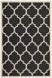 Product Image of Moroccan Black, Beige (266) Area Rug