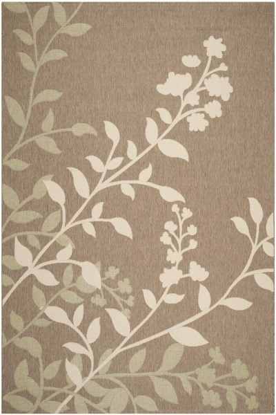 Brown, Beige (242) Outdoor / Indoor Area Rug