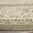 Product Image of Natural, Olive (1E01) Bordered Area Rug