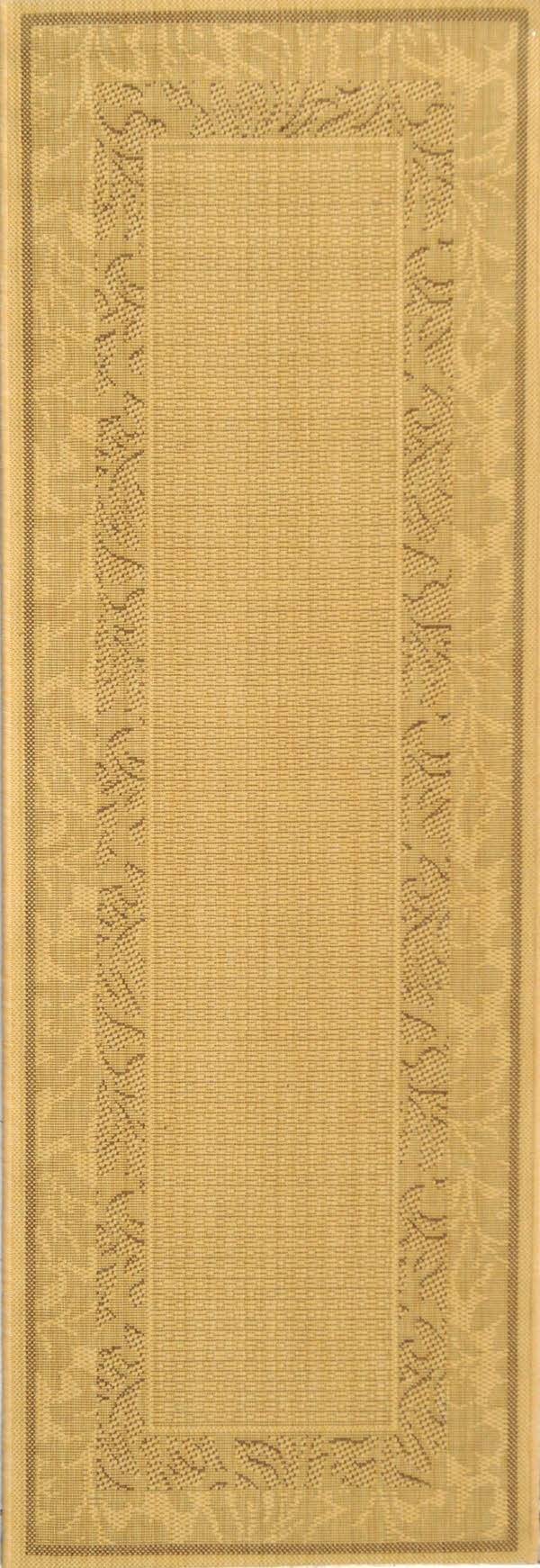 Natural, Brown (3001) Outdoor / Indoor Area Rug