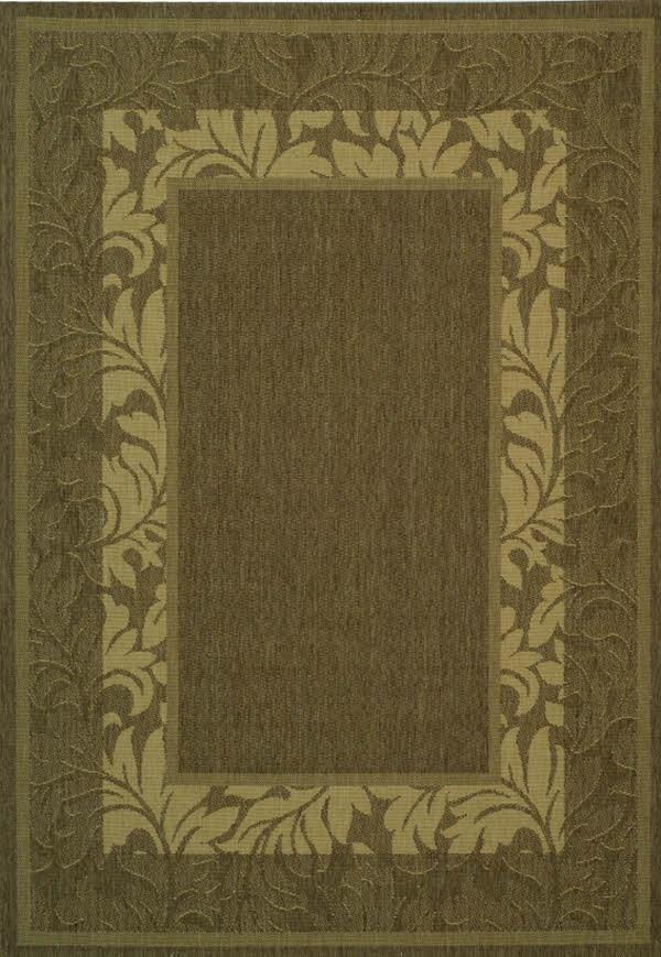 Brown, Natural (3009) Outdoor / Indoor Area Rug