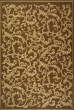Product Image of Floral / Botanical Brown, Natural (3009) Area Rug