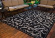 Product Image of Floral / Botanical Black, Sand (3908) Area Rug