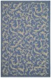 Product Image of Floral / Botanical Blue, Natural (3103) Area Rug