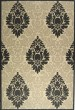 Product Image of Outdoor / Indoor Black, Sand (3901) Area Rug
