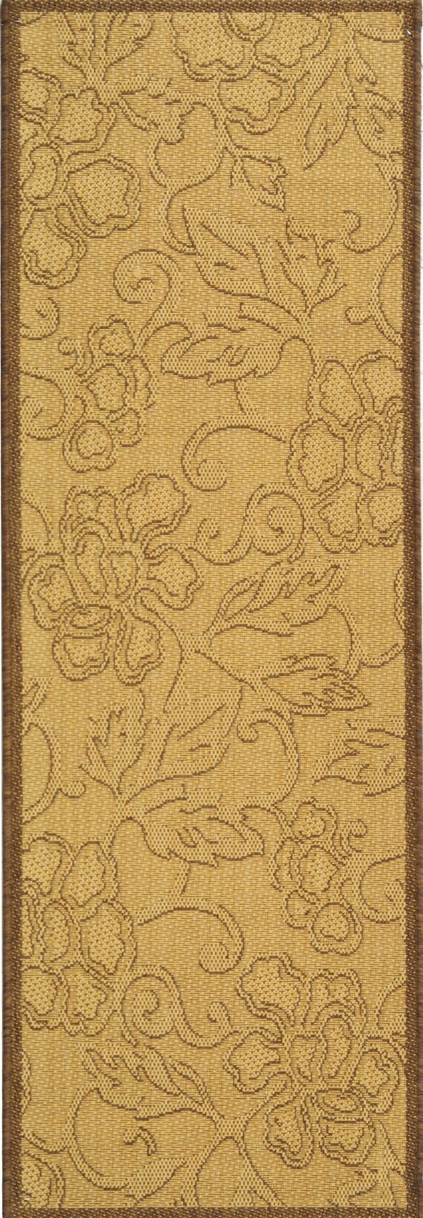 Natural, Brown (3001) Transitional Area Rug