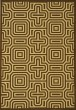 Product Image of Contemporary / Modern Chocolate, Natural (3409) Area Rug