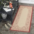 Product Image of Natural, Red (3701) Outdoor / Indoor Area Rug