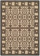 Product Image of Outdoor / Indoor Black, Sand (D) Area Rug