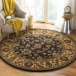 Product Image of Black, Gold (D) Traditional / Oriental Area Rug