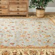 Product Image of Light Blue, Ivory (B) Traditional / Oriental Area Rug