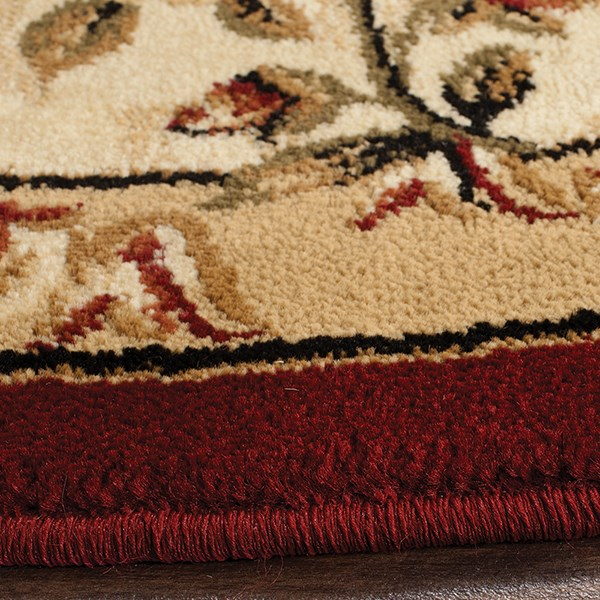 Red (C) Traditional / Oriental Area Rug