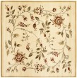 Product Image of Ivory (1291) Floral / Botanical Area Rug