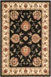Product Image of Traditional / Oriental Black, Ivory (9012) Area Rug