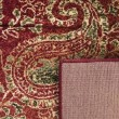 Product Image of Red (B) Paisley Area Rug