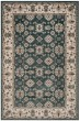 Product Image of Traditional / Oriental Teal, Cream (T) Area Rug